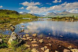 Lochan na h-Achlaise on Rannoch Moor, Highlands of Scotland<br /> <br /> (c) Andrew Wilson   Edinburgh Elite media