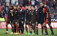 Schlussjubel Mats Møller Dæhli  og St. Pauli<br /> Hamburg, 16.04.2017, Fussball, 2. Bundesliga, FC St. Pauli - FC Wuerzburger Kickers 1:0<br /> <br /> Norway only