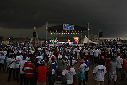 December 3, 2016 - Accra, Ghana - The New Patriotic Party (NPP) political party holds a rally in the Ashalebotwe region of Accra ahead of the Presidential and Parliament election on the 7th December. (Credit Image: © Louise Wateridge/Pacific Press via ZUMA Wire)