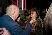 CLIVE SWIFT; JULIE WALTERSThe Actors Centre's 30th Birthday Party. 1a Tower St, Covent Garden. London. 2nd November<br /> *** Local Caption *** -DO NOT ARCHIVE -Copyright Photograph by Dafydd Jones. 248 Clapham Rd. London SW9 0PZ. Tel 0207 820 0771. www.dafjones.com