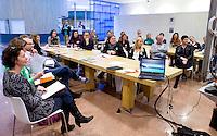 UTRECHT - Workshop 'Uitdagende Sport voor Jongens' . Hockeycongres bij de Rabobank in Utrecht. FOTO KOEN SUYK