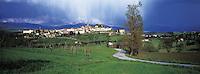 Italie, Toscane, Province d'Arezzo, Village de Poppi // Poppi, Arezzo province, Tuscany, Italy