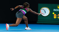 January 20, 2019 - Melbourne, AUSTRALIA - Sloane Stephens of the United States in action during the fourth-round at the 2019 Australian Open Grand Slam tennis tournament (Credit Image: © AFP7 via ZUMA Wire)