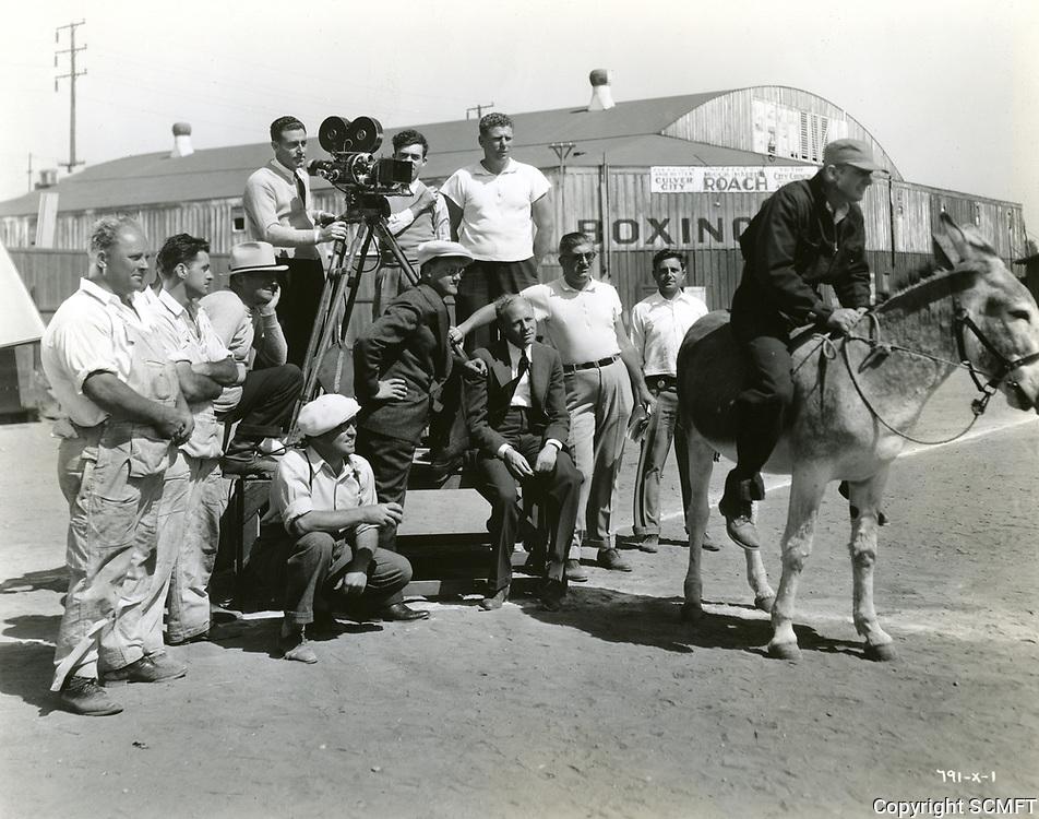 1937 Filming at Hal Roach Studios