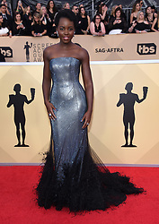 24th Annual Screen Actors Guild Awards held at the Shrine Exposition Center. 21 Jan 2018 Pictured: Lupita Nyong'o. Photo credit: OConnor-Arroyo / AFF-USA.com / MEGA TheMegaAgency.com +1 888 505 6342
