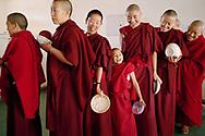 Lunch time - Shugsep nunnery, Dharamsala, India, 2010