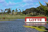 18 APR15 The LOTTE Championship at The Ko Olina Golf Club in Kapolei, Hawaii. (photo credit : kenneth e. dennis/kendennisphoto.com)