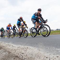 07-03-2020: Wielrennen: Ronde van Groningen: Usquert (63) Niels Wolffenbuttel