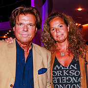 NLD/Hilversum/20130820- Najaarspresentatie RTL 2013, Menno Buch en partner Nicole van Houten