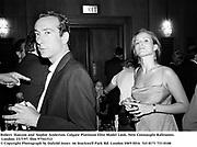 Robert  Hanson and  Sophie Anderton. Colgate Platinum Elite Model Look. New Connaught Ballrooms. London. 23/7/97. film 97541f12<br />© Copyright Photograph by Dafydd Jones<br />66 Stockwell Park Rd. London SW9 0DA<br />Tel 0171 733 0108