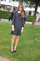 JADE WILLIAMS at the 3rd day of the 2012 Glorious Goodwood racing festival at Goodwood Racecourse, West Sussex on 2nd August 2012.
