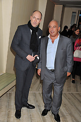Left to right, DYLAN JONES and SIR PHILIP GREEN at the Designer Fashion Fund Award hosted by The British Fashion Council and Vogue at Nobu Berkeley, 15 Berkeley Street, London on 29th January 2013.
