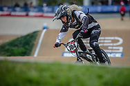 #104 (BARNES Des'ree) AUS at Round 2 of the 2020 UCI BMX Supercross World Cup in Shepparton, Australia.