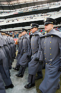 6 Dec 2008: Army Cadets enter the field before the Army / Navy game December 6th, 2008. At Lincoln Financial Field in Philadelphia, Pennsylvania.