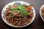 China Blue - Weird Food Dinner
