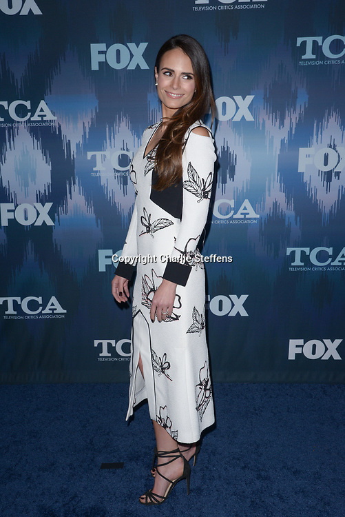 JORDANA BREWSTER at the Fox Winter TCA 2017 All-Star Party at the Langham Hotel in Pasadena, California