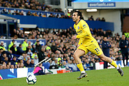 Chelsea midfielder Pedro (11) during the Premier League match between Everton and Chelsea at Goodison Park, Liverpool, England on 17 March 2019.