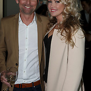 NLD/Amsterdam/20150324 -  boekpresentatie Het Grote Songfestival boek, Hans Cornelissen en Brigitte Nijman