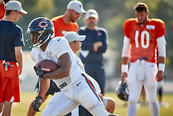July 28, 2018 - Bourbonnais, IL, U.S. - BOURBONNAIS, IL - JULY 28: Chicago Bears running back Benny Cunningham (30) participates in drills during the Chicago Bears training camp on July 28, 2018 at Olivet Nazarene University in Bourbonnais, Illinois. (Photo by Robin Alam/Icon Sportswire) (Credit Image: © Robin Alam/Icon SMI via ZUMA Press)