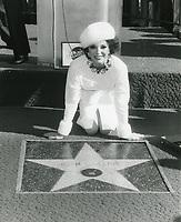 1983 Joan Collins' Walk of Fame ceremony