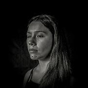 Maite Castillo (23) Técnica Dental. Reside en El Bosque, Santiago. Chile. Maite recibió el impacto de un perdigón en Gran Avenida, comuna del Bosque el día 20 de Octubre del 2019.