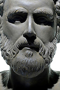 close up Aristotle (384 B.C. -322 B.C.) Greek philosopher