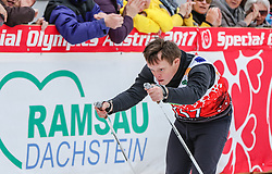 23.03.2017, Ramsau am Dachstein, AUT, Special Olympics 2017, Wintergames, Langlauf, Finale 500 m Freestyle, im Bild Roman Soltys (UKR) // Roman Soltys of Ukraine during the Cross Country Final 500 m Freestyle at the Special Olympics World Winter Games Austria 2017 in Ramsau am Dachstein, Austria on 2017/03/23. EXPA Pictures © 2017, PhotoCredit: EXPA / Martin Huber