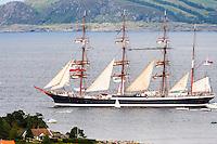 Norway, Randaberg. Tall Ships Race in Stavanger 2011. Sedov.