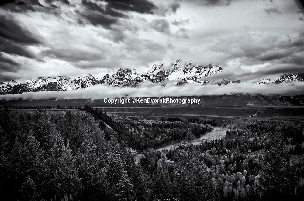 Ansel's Snake River view<br /> Grand Teton NP 2