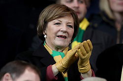 Norwich City's Delia Smith before kick off