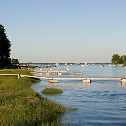 The Parker River, Newbury, Massachusetts.