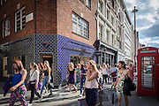 covent garden london england uk street photography people red telephone box