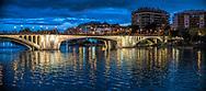San Telmo Bridge (1925-1931), designed by Jose Eugenio Ribera. Seville, Spain