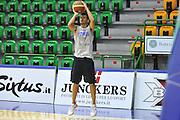 Sassari 15 Agosto 2012 - qualificazioni Eurobasket 2013 - allenamento<br /> Nella Foto : MASSIMO CHESSA<br /> Foto Ciamillo