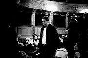 Matteo Renzi, mayor of Florence, at the Teatro Argentina  in Rome<br /> 26 novembre  2013 . Daniele Stefanini /  OneShot