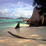 Point Source d'Argent beach, La Digue, Seychelles