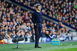 Manager Tim Sherwood (ENG) of Tottenham Hotspur looks concerned on the touchline with his side losing 3-2 - Photo mandatory by-line: Rogan Thomson/JMP - 07966 386802 - 12/04/2014 - SPORT - FOOTBALL - The Hawthorns Stadium - West Bromwich Albion v Tottenham Hotspur - Barclays Premier League.