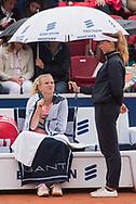 Katerina Siniakova (Czech Republic) at the 2017 WTA Ericsson Open in Båstad, Sweden, July 29, 2017. Photo Credit: Katja Boll/EVENTMEDIA.