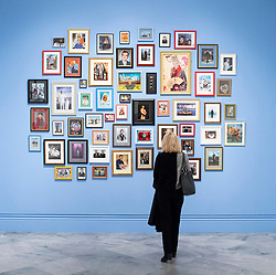 Martin Parr <br /> Photography exhibition <br /> Only Human <br /> At the National Portrait Gallery, London, Great Britain <br /> Press view <br /> 6th March 2019 <br /> <br /> Porthcurno , Cornwall 2017 <br /> <br /> Martin Parr (Photographer) <br /> Speaks to journalists ahead of giving a guided tour of his work. <br /> <br /> Photograph by Elliott Franks
