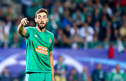 19.08.2015, Ernst Happel Stadion, Wien, AUT, UEFA CL, SK Rapid Wien vs Schachtjor Donezk, Playoff, Hinspiel, im Bild Thanos Petsos (SK Rapid Wien)// during UEFA Champions League Playoff 1st Leg match between SK Rapid Vienna and FC Shakhtar Donetsk at the Ernst Happel Stadium in Vienna on 2015/08/19. EXPA Pictures © 2015, PhotoCredit: EXPA/ Sebstian Pucher