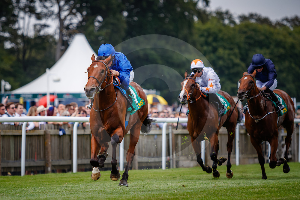 Quorto (W. Buick) wins The bet365 Superlative Stakes Gr.2  in Newmarket, 14/07/2018, photo: Zuzanna Lupa