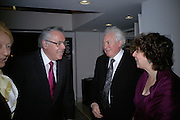U.S. Ambassador Robert Tuttle and Edward and Julia Booth-Clibbor, Maricopa Partnership for Arts and Culture,  Arizona Office of Tourism, and Arizona Department of Commerce<br /> In association with the Architecture Foundation and Blueprint magazine host Phoenix: 21st Century City , Serpentine Gallery, London. 12 March 2007.  -DO NOT ARCHIVE-© Copyright Photograph by Dafydd Jones. 248 Clapham Rd. London SW9 0PZ. Tel 0207 820 0771. www.dafjones.com.