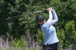 May 6, 2018 - The Colony, TX, U.S. - THE COLONY, TX - MAY 06: Jane Park (USA) hits from the 4th tee during the Volunteers of America LPGA Texas Classic on May 6, 2018 at the Old American Golf Club in The Colony, TX. (Photo by George Walker/Icon Sportswire) (Credit Image: © George Walker/Icon SMI via ZUMA Press)