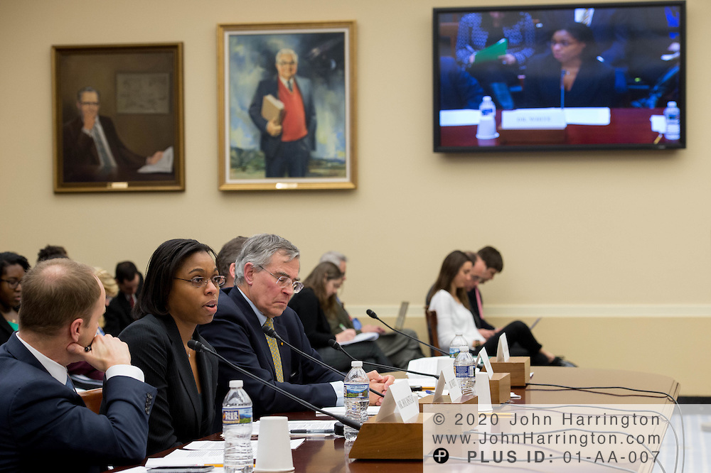 "Dr. Kimberly White, Senior Director, Chemical Products and Technology, American Chemistry Council testifies before the House Committee on Science, Space, & Technology, entitled ""Make EPA Great Again"", Tuesday February 7, 2017 on Capitol Hill in Washington, DC."