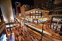 Intersection of 5th Avenue & Pine Street, Downtown Seattle