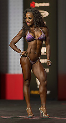 Sept.16, 2016 - Las Vegas, Nevada, U.S. -  VICKI COUNTS competes in the Bikini Olympia contest during Joe Weider's Olympia Fitness and Performance Weekend.(Credit Image: © Brian Cahn via ZUMA Wire)