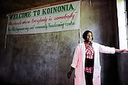 NAIROBI, KENYA – MARCH 11, 2010: A Kenyan Care for AIDS staff member.