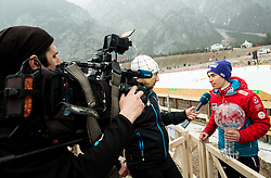 Stefan Kraft (AUT) interviewed by Damjan Medica of Planet TV after the Ski Flying Hill Men's Individual Competition at Day 4 of FIS Ski Jumping World Cup Final 2017, on March 26, 2017 in Planica, Slovenia. Photo by Vid Ponikvar / Sportida