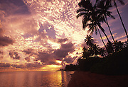 Sunset, Aina Haina, Oahu, Hawaii<br />