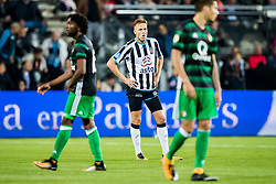 Paul Gladon of Heracles Almelo during the Dutch Eredivisie match between Heracles Almelo and Feyenoord Rotterdam at Polman stadium on September 09, 2017 in Almelo, The Netherlands